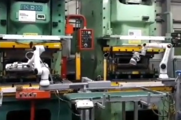 Industrial Automation Metal Stamping